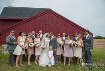 Farm Weddings / There's just something special about the charm of a wedding in a barn on a farm.