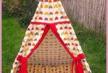 Bespoke Tepees / Handmade beautiful tepees for children. Custom made to order