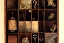 Shadowbox/Assemblage art/Box art