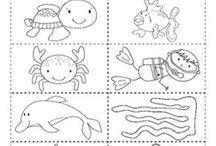 Thema: wat zie je in de zee