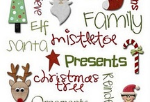 Christmas Digi Images / Large collection of digital images great for papercraft projects.  Scrapbooking and card making.