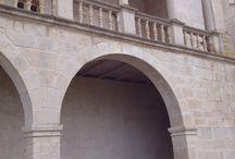 Catalunya: Bellpuig (Urgell). Catalonia. Lleida / Ruta del Císter. Convent de Sant Bartomeu