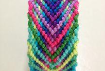 Bracciale intrecci multicolor