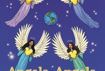 "Children's Picture Book - Angels / Announcing the release of my new children's picture book, ""Angels, Angels, Everywhere"" to bring children comfort and joy.  Written in rhythm and rhyme, it's non-denominational and multiracial.  A perfect holiday gift!"