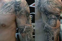 Poseidon-tattoo