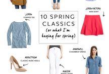 Spring wardrobe / Весенние луки, что приобрести на весну, весенний гардероб