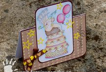 Cards with Art Impressions stamps