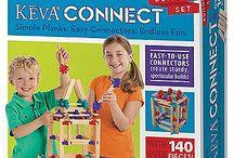 KEVA Toys, KEVA Planks & Contraptions / KEVA toys and building sets for kids featuring KEVA planks