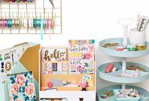 Craft + Office Storage