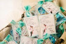 結婚式 サンキューカード