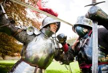 Knights Tournament / In July 2014, Alnwick Castle hosted its very first Knights Tournament! Accompanied by squires, ladies and musicians, four courageous knights competed in a variety of combat displays to win their honour and the crowd's favour!