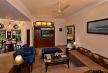 """Presidential Suites / Presidential Suite room features 02 separate Bedroom, separate living & dining, A.C. with flat 40"""" colour TV's in both Bed room & Living area with multi-channel cable, Tea and Coffee Maker, Blackout curtains, High Speed WI-FI net access, Kitchenette along with Bar counter  with all amenities, Dining table and well-appointed bathroom with a complete range of toiletries in both bedrooms and Living area as well."""