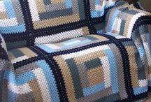 colcha tricot