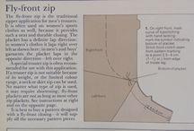 Fly Front Zip Tutorial / Jak wszywać zamek w spodnie.  Z książki Readers Digest The Ultimate Sew Guide