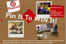 Pin It To Win It ... Intundla Game Lodge & Bush Spa / Win a Pamper Day for 2 every month at Intundla Game Lodge & Bush Spa. Pin a pic of your Conference at Intundla to stand a chance to win.   Email happyguests@intundla.co.za for more ...