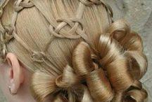 Hair ideas for the girls :-) / by Dani @bebrilliantlygreen.com