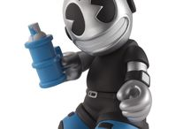 Vinyl Art Toys / A collection of cool vinyl character collectibles.