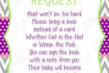 Baby Shower Ideas / by Krystle Teal