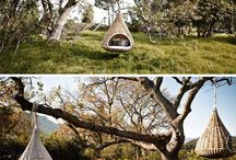 Outdoor Living Spaces (non-beachy) / by Stacy