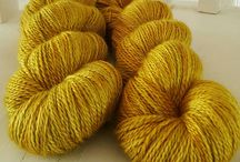 Hand Spun/Dyed Yarn