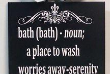 bath-art / El baño también puede inspirar el arte y darle vida