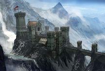 Dwarf Scenery / Ideas for wargaming dwarf scenery