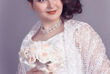 Свадебный портрет / Студийная свадебная фотография