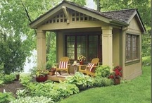 Beautiful Tiny Spaces / Sheds, greenhouses, guest houses, cabins.