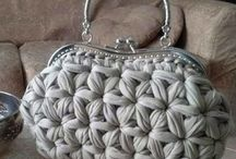 Handbags - knitted