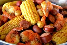 Shrimp boil / by Theresa Bauer