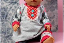 Puppenkleidung & Puppenzubehör nähen / Freebooks