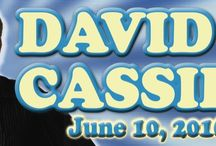 DAVID CASSIDY at The Newton Theatre 6/10/2016 / Since starring in The Partridge Family, David Cassidy's spectacular career as an entertainer has thrilled fans for decades. He brings to the stage a concert filled with hits - from I Woke Up In Love This Morning and I Think I Love You - to solo hits like Cherish and How Can I Be Sure. This is your chance to spend an intimate evening with David Cassidy, the biggest teen idol of all time