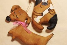 Текстильная Игрушка Собака