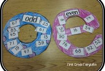 Fun with Numbers / Number Sense- even/odd, place value, greater/less than,
