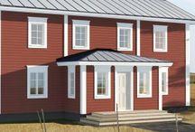 POHJALAINEN   mallisto / Jetta-talo suunnitteli pohjalais -talomalliston 2014. Nämä talomallit pohjautuvat vahvasti suomalaiseen talonpoikaiskulttuuriin. Nämä kodit ovat luotu vanhojen tupien luontoa kunnioittaen sekä todellisia olemassa olevia pohjalaistaloja/talonpoikaistaloja mukaellen. Malliston tilaratkaisut on luotu vastaamaan nykyisiä asumisen vaatimuksia. Pohjalaismallistomme istuu kauniisti suomalaiseen ja pohjoismaiseen pelto-ja metsämaisemaan.