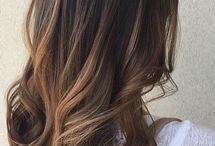 balayage brunette subtle