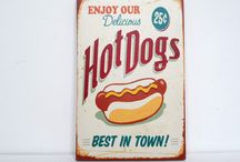 We eat hotdogs and drink cocktails every day / The hotdog and cocktail lifestyle