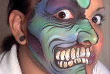 Halloween monster gore