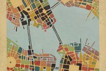 Karten / Maps