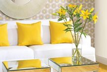 Interior design yellow inspiration