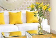 Interior design yellow inspiration
