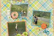 Aimee Harrison Designs / These are Aimee's designs on my scrapbooking pages and freebies.