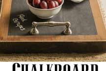 Projects & Ideas: Chalkboard