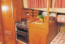 Fisher Interiors / A selection of Fisher Yachts Interiors from a range of different models