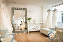Our Beautiful Bridal Boutique / Our Beautiful bright & spacious bridal boutique housing gorgeous gowns proudly created by award winning British designers. Come & visit us!