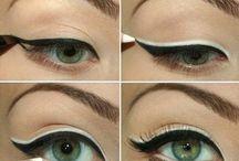 Make and beauty. / Estilos de maquiagens, cores e estampas