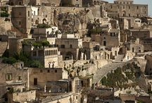 Magical Matera, Italy / The Sassi (caves) of Matera, Italy