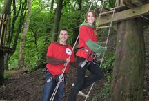 Idea #12: Go Ape tree top adventure / The Go Ape experience involves fun and adventure across up to six sites. Each site features our award winning high ropes, awesome crossings, tunnels, bridges and an epic wind-in-your-face zip wire to finish. Read about my experience at Buxton Go Ape here http://thatideasgirl.com/birthdays/idea-12-go-ape-tree-top-adventure/
