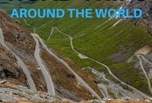 // ROAD TRIPPING THE WORLD / Fabulous road trips around the world that inspire you to hit the road again.