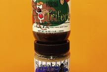 Almond Butters from Saratoga Peanut Butter Co / Check out our delicious Almond Butters!   Almighty Almond - just almonds!!! Trifecta - Dark Chocolate Almond Butter w Cherries